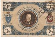 5 Mark (Detlev v. Liliencron Gesellschaft) – reverse