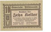 10 Heller (Altschwendt) -  obverse