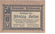 50 Heller (Altschwendt) – obverse