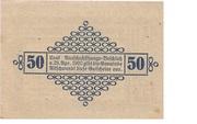 50 Heller (Altschwendt) – reverse