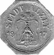 50 Pfennig - Alzey – obverse