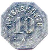 10 Pfennig - Alzey – reverse