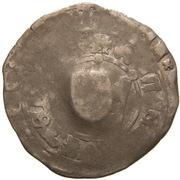1 Prague Groschen (Counterstamped (Amberg)) – obverse