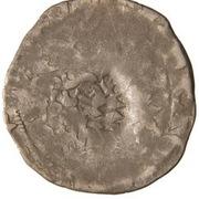 1 Prague Groschen (Counterstamped (Amberg)) – reverse