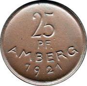 25 Pfennig - Amberg – obverse