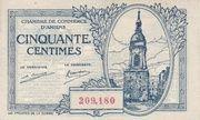 50 Centimes - Chambres de Commerce d' Amiens – obverse
