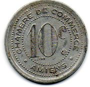10 Centimes (Amiens) – reverse