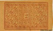 2 francs - Chambre de Commerce d'Amiens [80] – reverse