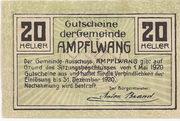 20 Heller (Ampflwang) -  reverse