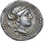 Tetradrachm - First Meris – obverse