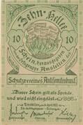 10 Heller (Amstetten, Schutzverein Antisemitenbund) – obverse