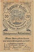 20 Heller (Amstetten, Schutzverein Antisemitenbund) – obverse