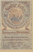 50 Heller (Amstetten, Schutzverein Antisemitenbund) – obverse
