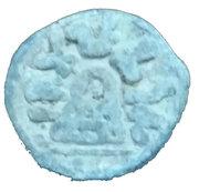 1 Karshapana - King Chutukulananda (Ananda Dynasty) – obverse