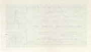 1 Kopek (Foreign Exchange Certificate) – reverse