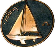 Medal - Olympic Games 1980 Moscow (Tallinn 80 - Soling; Estonia) -  obverse
