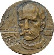 Medal - 100th birthday of Fridtjof Nansen -  obverse