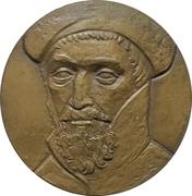 Medal - 450th anniversary of circumnavigation of Fernando de Magellan -  obverse