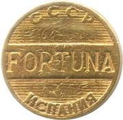 Game Token - Fortuna (USSR - Spain) – reverse