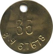 Token - 35 Military Unit (67678) – obverse