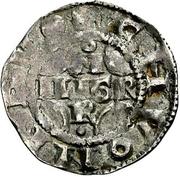 1 Pfennig - Konrad II. and Pilgrim – obverse