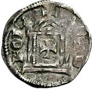 1 Pfennig - Konrad II. and Pilgrim – reverse
