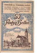 50 Heller (Andorf) -  obverse