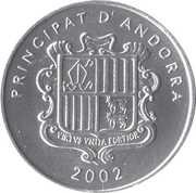 1 Centim (Pyrenean Chamois) -  obverse