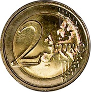 2 Euro (General Council of the Valleys) -  reverse