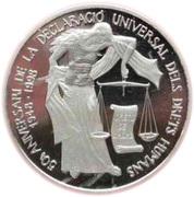 10 Diners - Joan Martí i Alanis (Human Rights) -  reverse