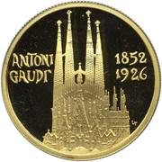 50 Diners - Joan Martí i Alanis (Antoni Gaudi) -  reverse
