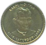 1 Centim (Pope John Paul II) – reverse