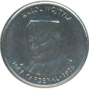 50 Centims (Pope John Paul II) -  reverse