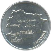 50 Centims (Andorra) -  reverse