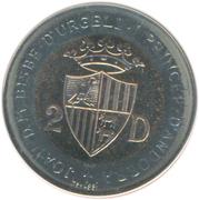 2 Diners - Joan Martí i Alanis (Ibex) -  obverse