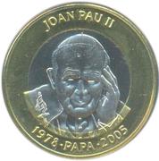 2 Diners - Joan Enric Vives i Sicília (Pope John Paul II) -  reverse
