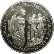 5 Diners - Joan Martí i Alanis (Andorran Circle of Arts) -  reverse