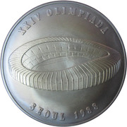 20 Diners - Joan Martí i Alanis (1988 Summer Olympics) -  reverse
