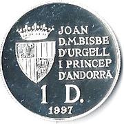 1 Diner - Joan Martí i Alanis (Treaty of Rome) -  obverse