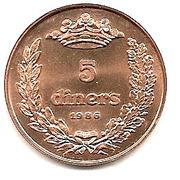 5 Diners - Joan Martí i Alanis -  reverse