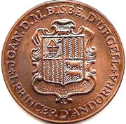 5 Diners - Joan Martí i Alanis (2nd Congress of the Catalan Language) -  obverse