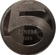 5 Diners - Joan Martí i Alanís (Andorran Romanic) -  reverse