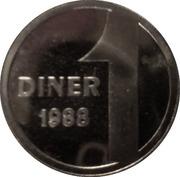 1 Diner - Joan Martí i Alanís (Andorran Romanic) – reverse