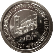 10 Diners - Joan Martí i Alanís (Andorran Romanic) -  obverse