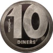 10 Diners - Joan Martí i Alanís (Andorran Romanic) -  reverse