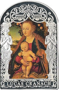 15 Diners - Joan Enric Vives i Sicília (Madonna With Child Under the Apple Tree) -  reverse
