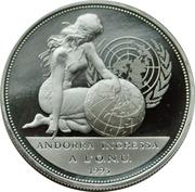 10 Diners - Joan Martí i Alanis (Andorra U.N. Membership) -  reverse