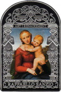 15 Diners - Joan Enric Vives i Sicília (Small Cowper Madonna) -  reverse