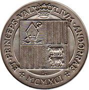 25 Diners - Joan Martí i Alanis (Jubilee) -  reverse