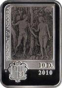10 Diners - Joan Enric Vives i Sicília (Albrecht Dürer) -  obverse